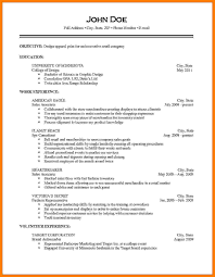 How To Make Job Resume 100 How To Make A Simple Job Resume Cfo Cover Letter 17