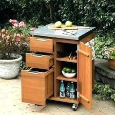 patio serving cart outdoor storage cart outdoor storage cabinet patio serving station party pool