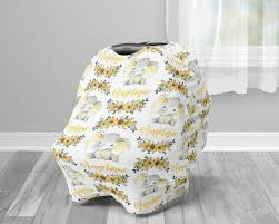 car seat canopy cover sunflower