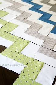 Chevron Quilt Pattern Fascinating Easiest Ever Chevron Quilt No Triangles I LOVE This Pattern