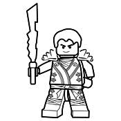 Kleurplaat Lego Ninjago Masters Of Spinjitzu 4107