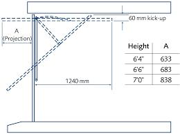 up and over steel canopy gear garage door specification