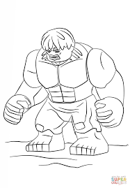 Small Picture Lego Hulk coloring page Free Printable Coloring Pages