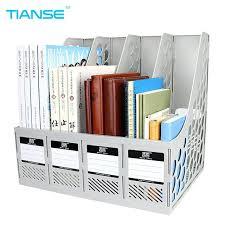 desk office file document paper. Office File Organizer Document Trays Holder 4 Cases Grey Plastic For Desktop Storage Stationery Ideas Desk Paper C