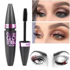 details about cosmetic black mascara makeup eyelash waterproof extension curling eye lashes uk