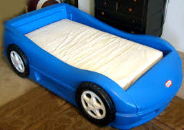 Icon of Adorable Realistic Race Car Bed Design for Toddlers