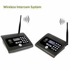 2pcs Full Duplex Indoor Wireless Voice Calling Intercom System Two-way  Desktop Radio for Home&Office