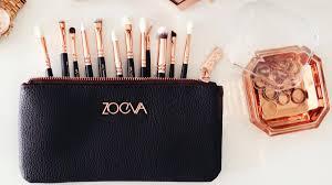 zoeva rose golden luxury plete eye set make up brushes the