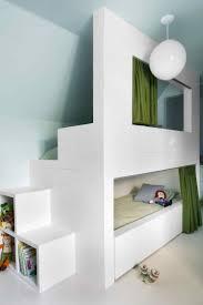 Secret space bunk bed in an attic kid's room in Interior Design