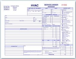 Hvac Invoice Sample - April.onthemarch.co