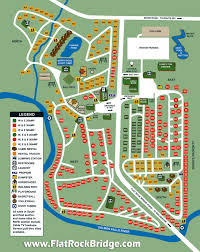 flat rock bridge site map