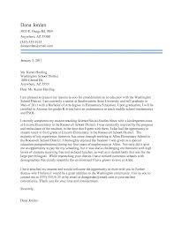 Ideas Collection Cover Letter Samples For Teachers With No