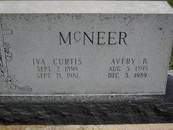 Iva Myrl Curtis McNeer (1899-1981) - Find A Grave Memorial