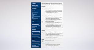 Experienced Software Engineer Resume Software Engineer Resume Guide And A Sample [24 Examples] 6