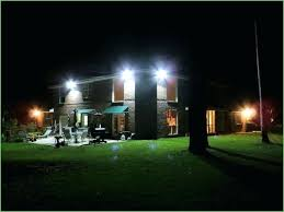 led outdoor flood light fixture lighting led flood light a quiet house in the evening led led outdoor flood light