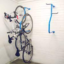 cycla 2 up vertical wall mounted bike