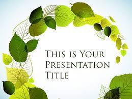Presentation Themes Google Dance Of The Leaves Free Google Slides Theme Poweredtemplate