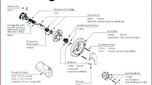 delta two handle shower faucet post single repair instructions