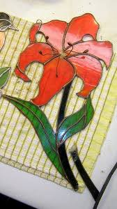 here is the red tiger lily