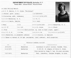 Criminal Record Template Arrest Record Template Layout Record Of Arrest Police File