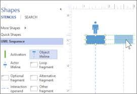 Message Sequence Chart Visio Create A Uml Sequence Diagram Visio