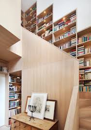 Book Wall Stair Step Bookcase