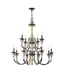 elk 32221 8 4 channery point 12 light 37 inch oil rubbed bronze aged cream chandelier ceiling light