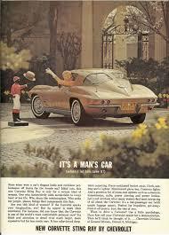 <b>Vintage</b> 1963 Two Page Magazine Ad for General Motors <b>Brown Car</b>