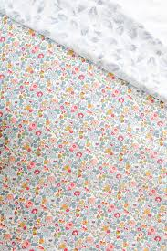 liberty print duvet set in b cot and single