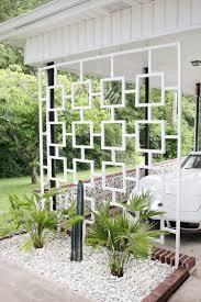 Trellis Modern Design Mid Century Trellis Diy Mid Century Landscaping Modern