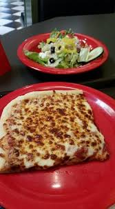 square cheese pizza slice. Plain Square Square Pizza Lunch Special With Slice Of Cheese Pizza And Greek Side Salad On Cheese Pizza Slice Y