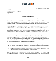 Business Press Release Template 020 Sample Press Release Template Page1 2066px Wmf Pdf