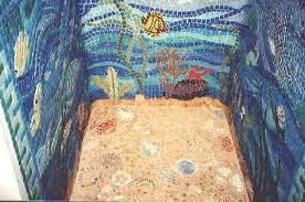 mosaic tile designs. Mosaic Shower Design Of An Underwater Scene Tile Designs I