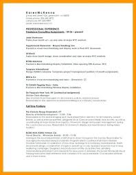 Visual Merchandising Resume