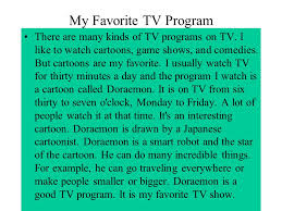 my favorite tv show essay money money is indeed important but  money money is indeed important but money cannot buy everything my favorite tv program there are