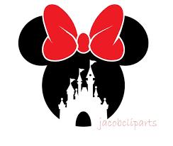 Minnie Mouse Castle SVG Disney Birthday Decor Minnie Mouse | Etsy