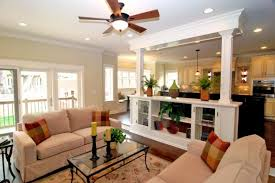 small open kitchen living room and design