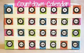 Calendar Countdown Days Countdown Calendar Repeat Crafter Me