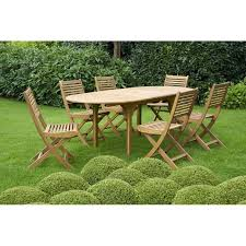 Ensemble de jardin Junon : 1 table et 6 chaises