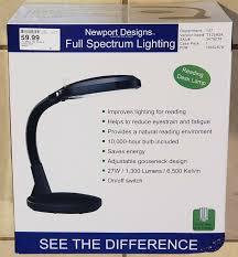 Newport Designs Full Spectrum Lighting Upc 851021003569 Newport Designs Black Full Spectrum Table
