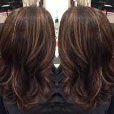 Dark Brown Hair With Highlights And Lowlights Fashion Auburn