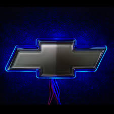 blue chevy logo wallpaper. Fine Logo LED For Chevrolet Logo Blue Image 500x500 To Chevy Wallpaper H