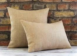 Burlap Pillow Covers Wholesale