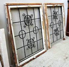 wrought iron window pair of square windows bars and doors faux inserts for arched wrought iron window