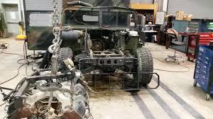 hmmwv engine swap