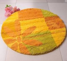 stylish round bath rugs models decozilla colorful round outdoor rugs