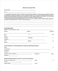 Medication Release Form Template - April.onthemarch.co
