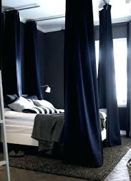 Canopy Bed Blackout Curtains & Canopy Bed Curtains | Canopy Bed ...
