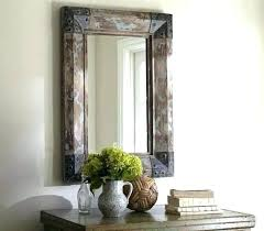 rustic wood mirror frame. Related Post Rustic Wood Mirror Frame