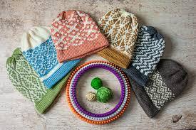 Loom Hat Patterns Beauteous Hey Loomers We Have Loom Knit Fair Isle Hat Patterns Available